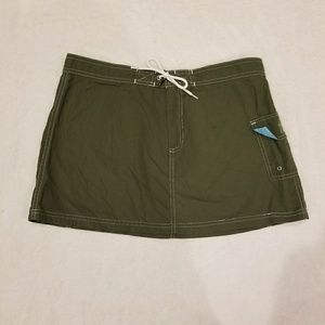 J. Crew womens skirts, green, size 6